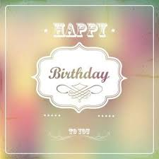 birthday card with birds and flowers free vector download 132478
