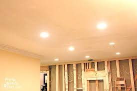 Recessed Lighting Installation Cost Install Halo Recessed Lighting New Construction Installing