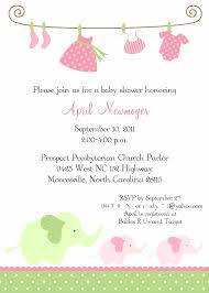 baby shower invitations for girls lilbibby com