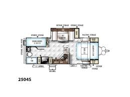 Rockwood Camper Floor Plans 2018 Forest River Rockwood Mini Lite Rockwood Mini Lite 2504s
