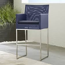 Outdoor Bar Table And Stools Outdoor Bar Furniture Crate And Barrel