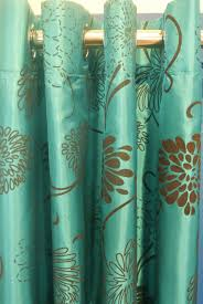 Teal And Brown Shower Curtain Stylish Turquoise And Brown Curtains And Best 25 Brown Shower