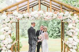 wedding arbor used weddings archives seattle floral design