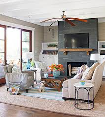 Fireplace Styles And Design Ideas Better Homes And Gardens - Living rooms with fireplaces design ideas