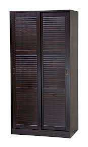 Solid Wood Armoire Wardrobe How To Make Wardrobe Slide Doors Inviting Home Design