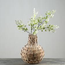 aliexpress com buy home decor vase wooden vases for flower gifts