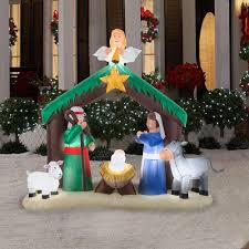 Christmas Decorations Home Depot by Inflatable Christmas Decorations Home Depot Home Decor