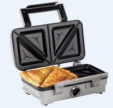 Best Sandwich Toasters With Removable Plates Cuisinart 2 In 1 Sandwich And Waffle Maker 1000 W Silver