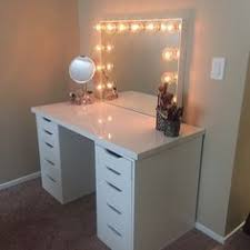Ikea Vanity Table Ideas This Impressionsvanityglowxlpro From Asyamarti Is The Perfect