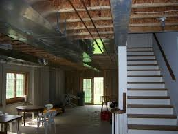 popular of unfinished basement design ideas with images about
