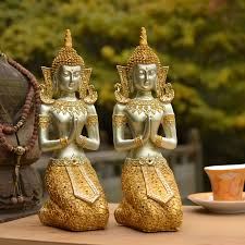 southeast asian style buddha ornaments home furnishings thai
