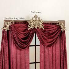 interior bay window traverse curtain rods antique drapery rod