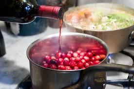 wine cranberry sauce with honey recipe cranberry sauce