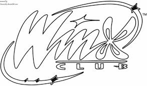 winx logo edit coloring qmeracleb deviantart
