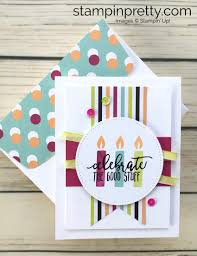 create birthday cards learn how to create this simple birthday card using stin up