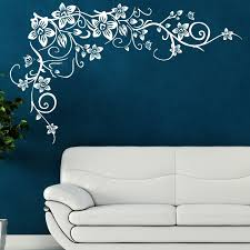 pleasurable stencil for walls with 23 tree wall creative