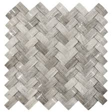 3d polished grey basket weave stone tile stone tiles outlets and 3d