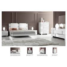 White Bedroom Sets Full Size Status Caprice Bedroom Set White Bed Nightstand Dresser And