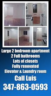 large 2 bedroom apartment with balcony for rent in forest hills