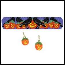 halloween beaded earring pack pattern bead patterns com