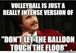 Volleyball Meme - the real meaning of volleyball by mistermeme meme center