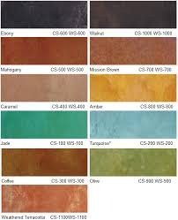 eagle concrete stain color chart safety data sheet view
