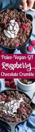raspberry chocolate crumble paleo u0026 vegan paleo running momma