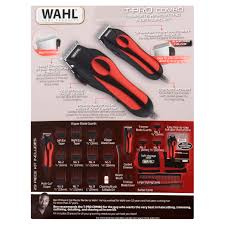 wahl t pro combo complete hair cutting u0026 detailing kit model