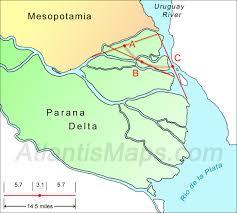 parana river map atlantis the land beyond the pillars