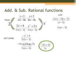 practice 9 5 adding and subtracting rational expressions worksheet