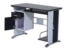 bureau pour ordinateur design bureau informatique design en bois 100 l x 52 i x 45h cm