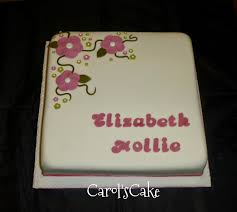 for the ladies carols cake