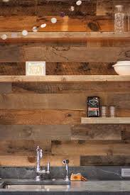 reclaimed rustic wood paneling in guest cottage anthology woods