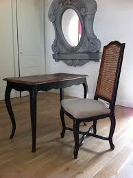 relooker un bureau en bois console ou bureau patine plateau bois patines et cie