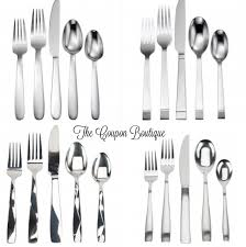 20 piece anchor hocking flatware sets for 11 99 free