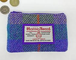 hand crafted items made from scottish harris tweed by tweediebags
