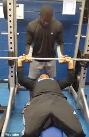 Who Invented The Bench Press Guy Attempting To Bench Press Accidentally Farts Instead Daily