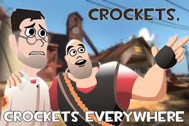 X X Everywhere Meme - crockets crockets everywhere by loofahmizer on deviantart
