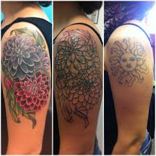 shoulder flowers cover up design best ideas gallery