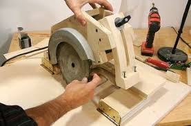 convert circular saw to table saw homemade table saw build version 1