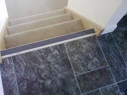 random tile slate floor