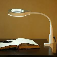 loupe de bureau mains libres 2 dans 1 lumineux loupe et le de bureau pratique mains