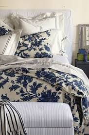 nicole miller 3 piece king size duvet cover set blue china paisley