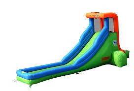 amazon com bounceland single inflatable water slide toys u0026 games