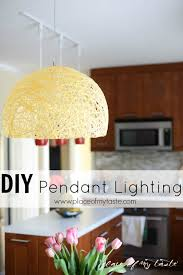 Diy Pendant Light Fixture Diy Pendant Light With Super Bright Led Bulb Place Of My Taste