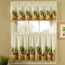 cute modern kitchen curtains