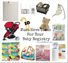 top baby registry 10 must items for your baby registry
