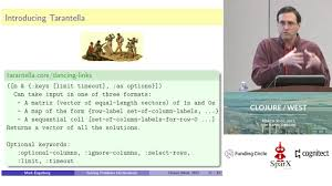Clojure Map Solving Problems Declaratively Mark Engelberg Youtube