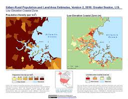 Boston Usa Map by Maps Urban Rural Population And Land Area Estimates V2 Sedac