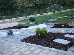 idee amenagement jardin devant maison pavé notre maison ossature bois